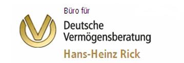 Deutsche Vermögensberatung, Hans-Heinz Rick